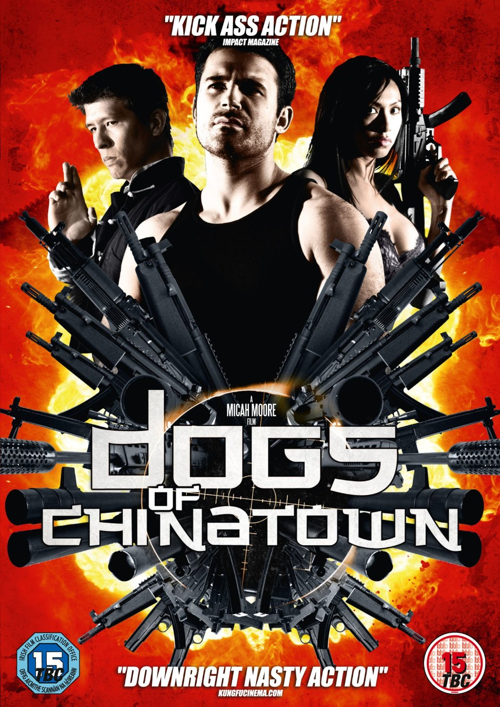 постер боевика Dogs of Chinatown